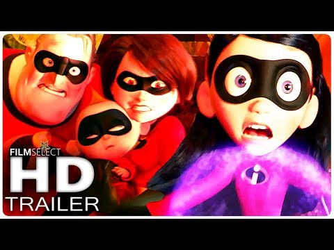 INCREDIBLES 2 Trailer 3 (2018)