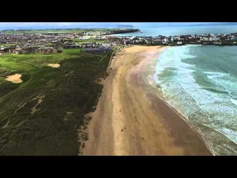 Portrush Strand & Royal Portrush Golf Club