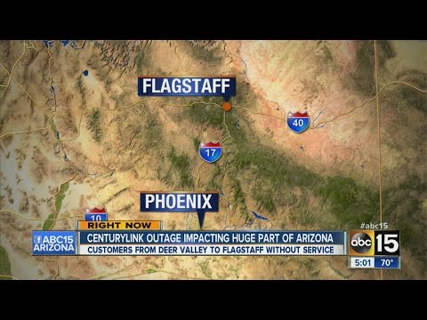 Outage halts internet, cell service in northern Arizona