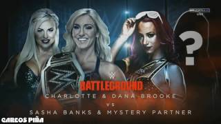 WWE Battleground 2016 Match Card Full