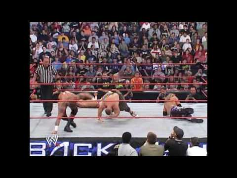 John Cena Vs Randy Orton Vs Edge Vs Shawn Michael- Fatal Four Way Backlash 2007 Part 2 video