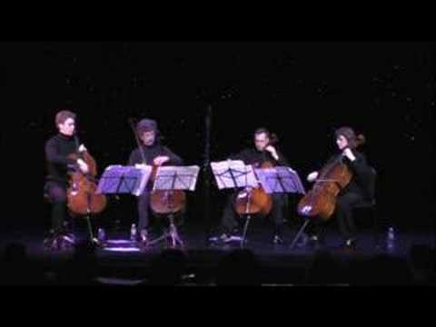 Stairway To Heaven - Led Zeppelin - Triple Door Cello Quartet