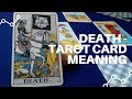 Frame from Death - Tarot Card - Upright and Reverse Meaning by Sangeeta Gupta - Healing Temples