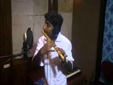 Teri Meri - Soulful Flute Fusion + Studio Tour by Bharat Raj