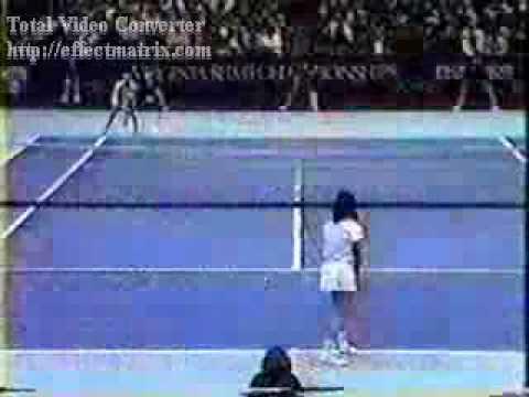 Gabriela サバティーニ Masters 決勝戦(ファイナル)  1990 (1º Parte)