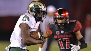 Colorado State WR Michael Gallup Tears Up San Diego State Secondary   CampusInsiders