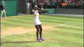 Grand Slam Tennis 2_ Gameplay, Let's Play - Maria Sharapova vs. Serena Williams [HD 1080p]