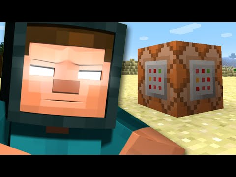 Minecraft: Herobrine Boss Battle - WITH ONLY A SINGLE COMMAND BLOCK