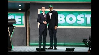 Jayson Tatum Drafted 3rd Overall By Boston Celtics in 2017 NBA Draft