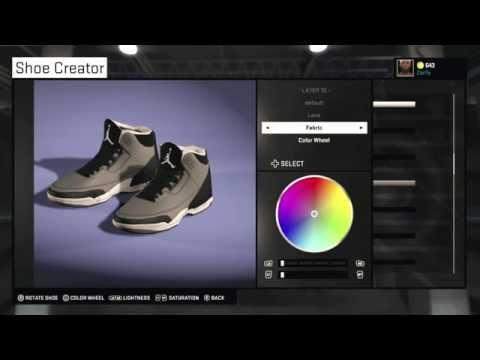 NBA 2K15 Shoe Creator - Air Jordan 3