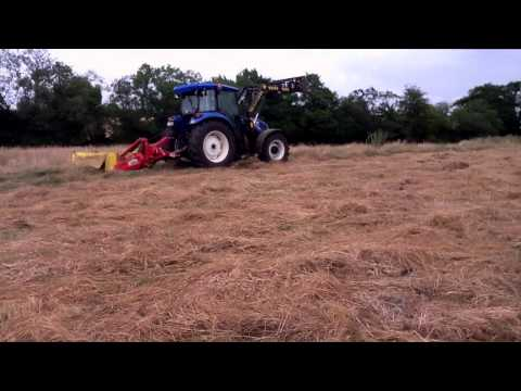 Tractor test- New Holland TD5 series