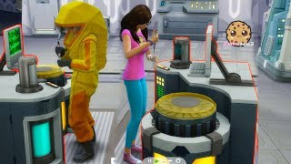 What's In The Secret Lab Basement In Strangerville -  Sims 4 Adventure Video Game Let's Play