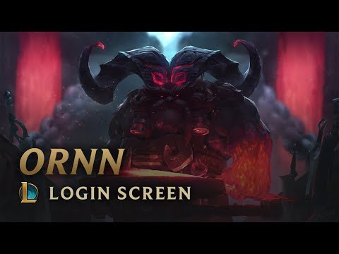 Ornn | Login Screen - League of Legends