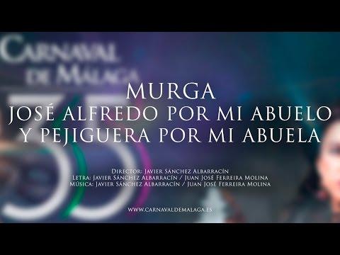 """Carnaval de Málaga 2015 Murga """"José Alfredo por mi abuelo y pejiguera por mi abuela"""" Semifinales"""