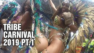 Trinidad Carnival 2019 - TRIBE Carnival Tuesday Part 1/3 - Socadrome Live