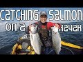Catching Kayak Salmon at Half Moon Bay CA