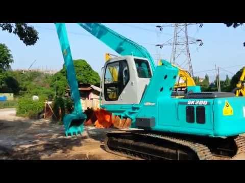 KOBELCO SK200-6 YN07-306XX ELEVATOR CAB LONG ARM EXCAVATOR