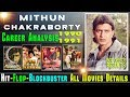 Mithun Chakraborty Hit and Flop All Movies List | 1990-1991 | with Box Office Collection Analysis