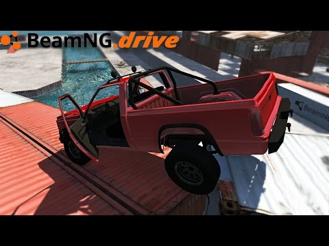 BeamNG.drive - DONT FALL PLEASE
