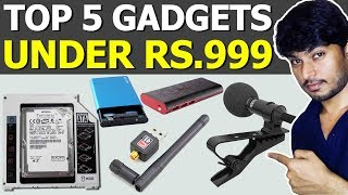 Top 5 Gadgets Under Rs.1000