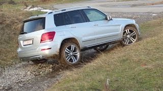Mercedes-Benz GLK facelift 220 CDI 4Matic off-road test (English subtitles)