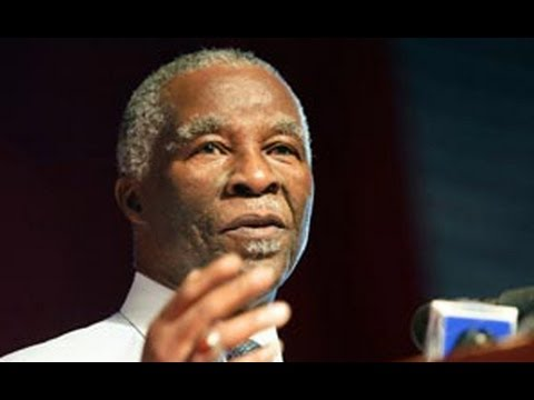 ANC CENTENARY LECTURE ON THABO MBEKI
