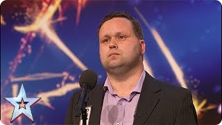 Paul Potts Stuns The Judges Singing Nessun Dorma Audition Britain 39 S Got Talent 2007
