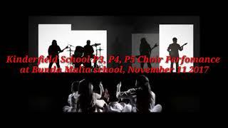Kinderfield School P3 P4 P5 Choir Perfomance At Bunda Mulia School November 11 2017