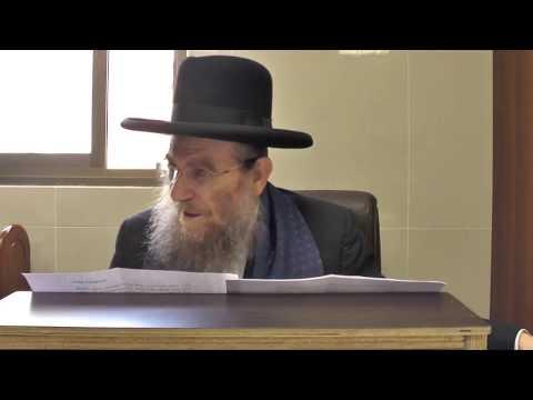 """הרב יצחק ברדא - ענייני ספירת העומר בהלכה - התשע""""ח 23.4.18"""
