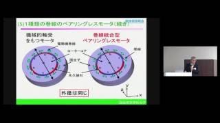 「モータと磁気軸受を一体化したベアリングレスモータ」 諏訪東京理科大学 工学部 電気電子工学科 教授 大島政英