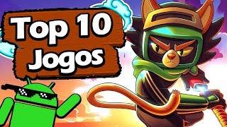 Os 10 Melhores Jogos LEVES e VICIANTES Para Android! - #529 2019