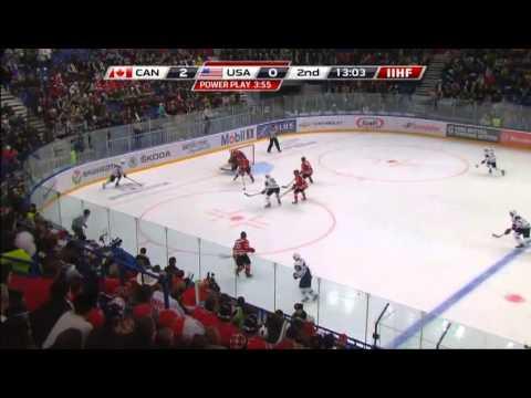 Canada-USA 2-1. 2013 IIHF Ice Hockey U20 World Championship 30.12.12