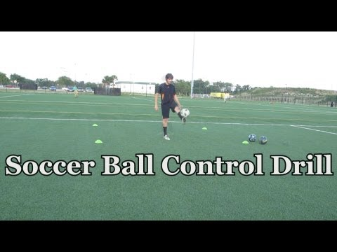Soccer Ball Control Drill