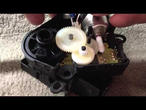 Chevy blend door actuator driver side