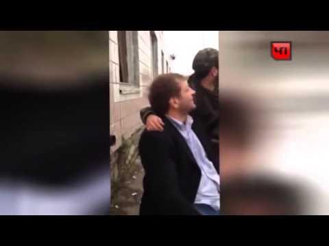 Пьяный Емельяненко уложил на землю Галустяна