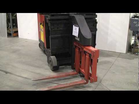 Raymond Swing Reach Truck Demo Video YouTube