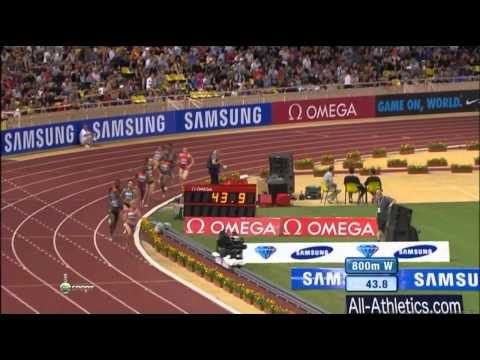 Yelena KOFANOVA 1:58.41 - Women's 800m Diamond League 2012 Monaco - MIR-La.com