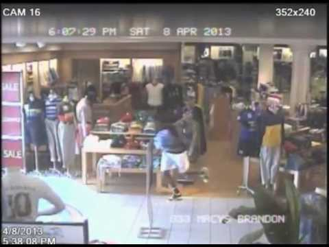 Suspect Steals $750 Worth Of Polo Shirts From Macy's Brandon