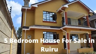 HOUSE FOR SALE IN RUIRU  4KM FROM THIKA SUPERHIGHWAY || NICONNECT PROPERTY TOUR EP 2