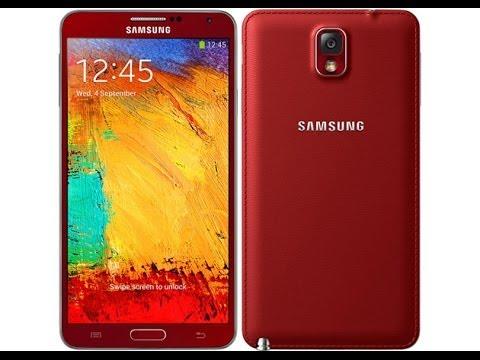 Samsung Galaxy Note 3 Neo Red Red Samsung Galaxy Note 3