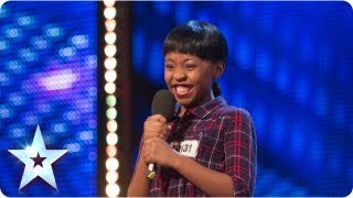 Asanda Jezile the 11yr old diva sings 'Diamonds' - Week 3 Auditions | Britain's Got Talent 2013