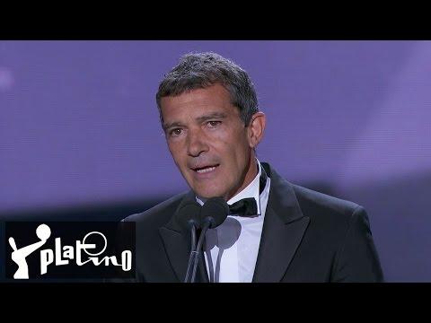 Premios Platino 2015 - Discurso de Antonio Banderas en los Premios Platino 2015
