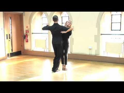 Izabela Dance - Tutorial 2 Of 8 - Tango video