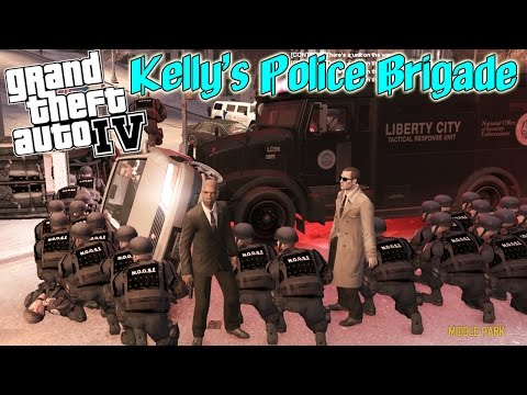 Kelly's Police Brigade - CALL IN THE SWAT! (GTA IV FR:LCPD Mod)