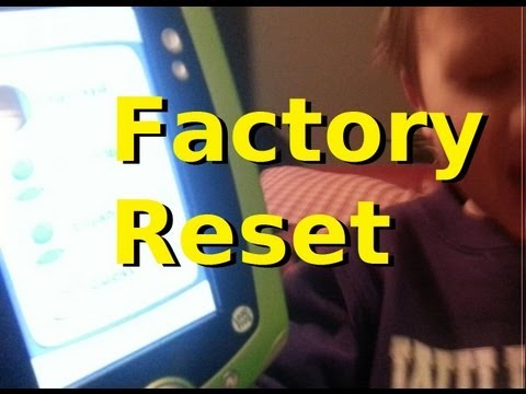 Factory Resetting the Leappad 2