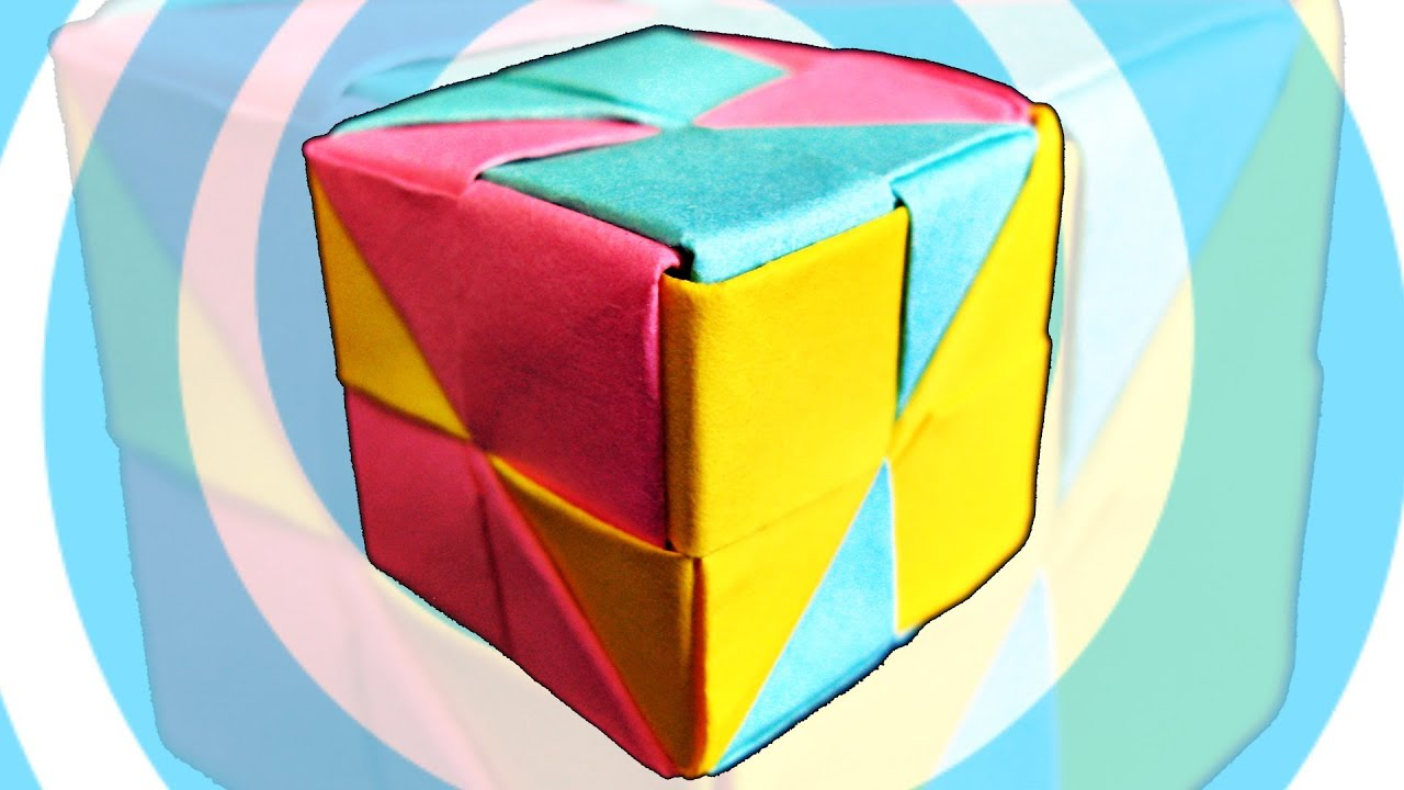 how to make 3d origami pieces with square paper