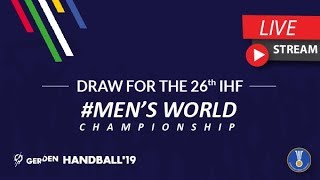 Draw for the 26th IHF Men's World Championship. II