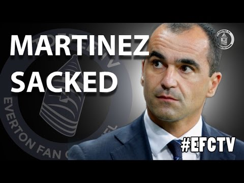 MARTINEZ SACKED!