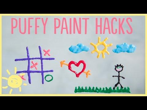 DIY   3 Puffy Paint Hacks