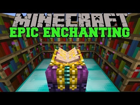 Minecraft: EPIC ENCHANTING MOD (BETTER ENCHANTMENTS. CHOOSE ENCHANTS) Mod Showcase